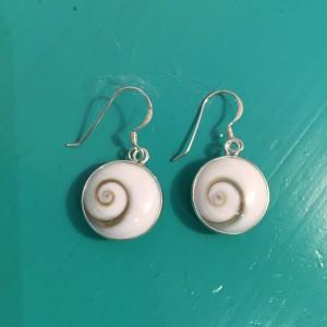 Shiva Eye Round drop earrings