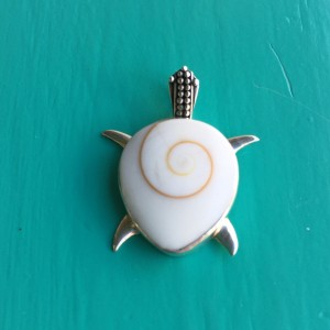 Shiva Eye Turtle Pendant