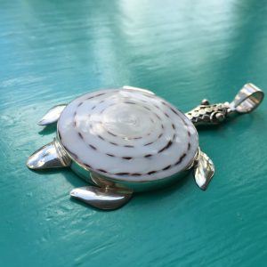 Large Turtle shell Pendant