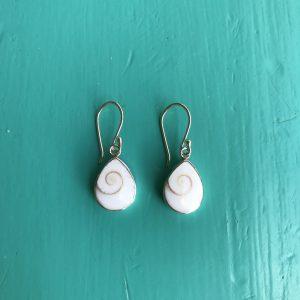 Shiva Eye Teardrop Earrings