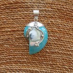 Nautilus Pendant small Turquoise