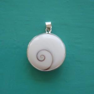 Medium sized Shiva Eye Pendant