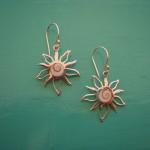 Shiva Eye Sun Earrings