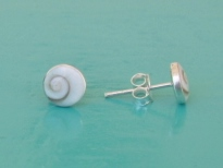 Shiva Eye Small Round Stud Earrings