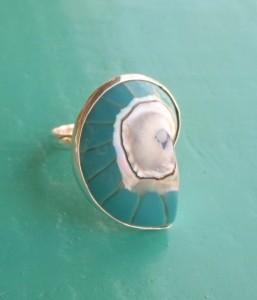 Nautilus Ring Turquoise