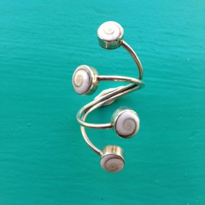 4-rounds Shiva Eye Ring