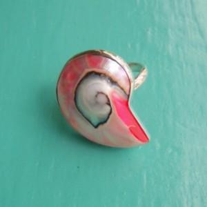 Nautilus Ring Pink