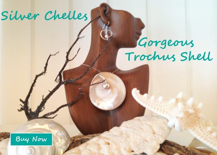Handcrafted Trochus Pendant