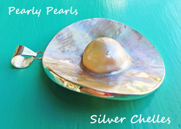 round pearl slider