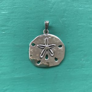 Sterling Silver Sand dollar Pendant