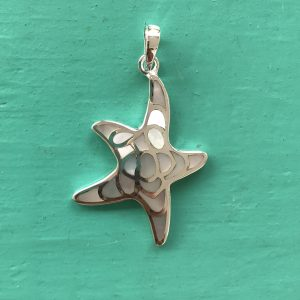 Mother of Pearl Starfish Pendant