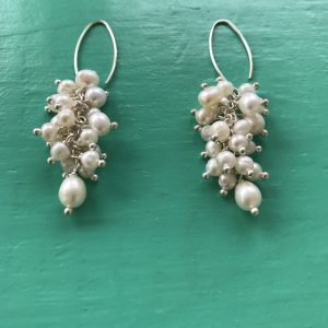Freshwater Pearl Cascade Earrings